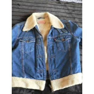 Manteau en jean Levis - Le vide-dressing de magrose
