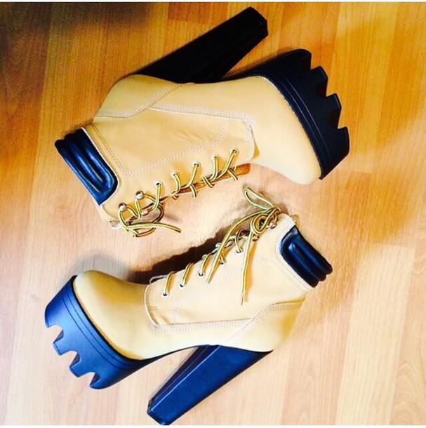 shoes timberland chunky heels timberland boot heels timberlands
