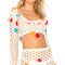 Lovers   friends flower power top in white from revolve.com