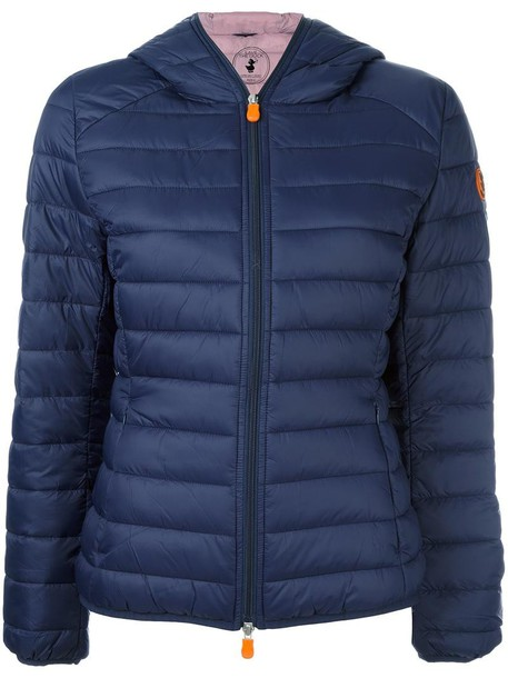 Save The Duck jacket women blue