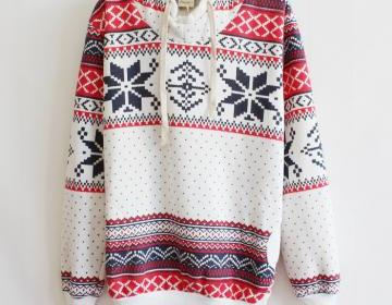 Thicker fleece sweater korean versi..