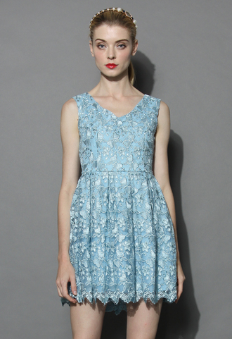 dress fair butterfly embroidered tulle dress in baby blue chicwish tulle dress blue dress party dress chicwish.com embroidered dress