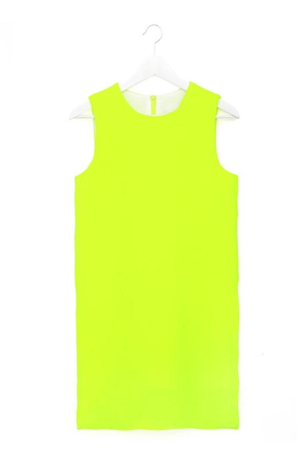 Overlaid Sleeveless Shift Dress - OASAP.com