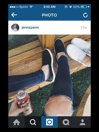 shoes leather aesthetic black cute flats tumblr jennxpenn youtuber