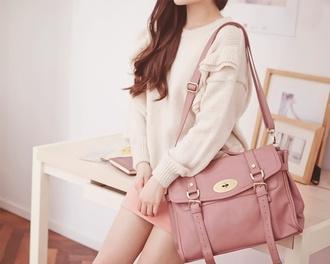 bag pastel kawaii pastel pink pink purse