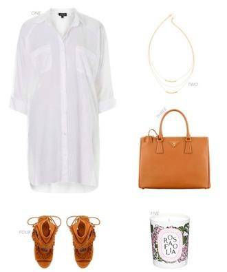 krystal schlegel blogger shirt dress necklace fringe shoes candle shoes dress blouse