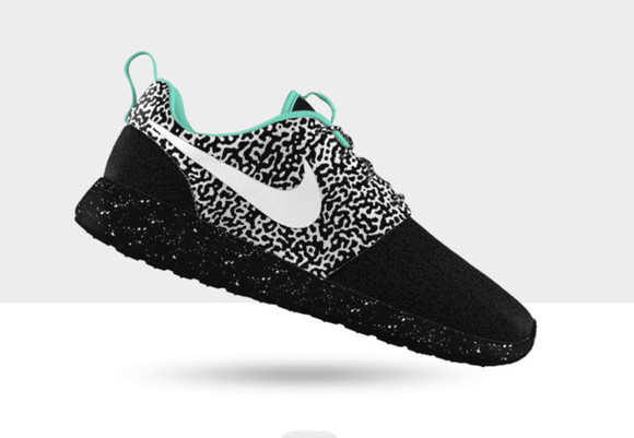 shoes leopard print nike roshe run girly