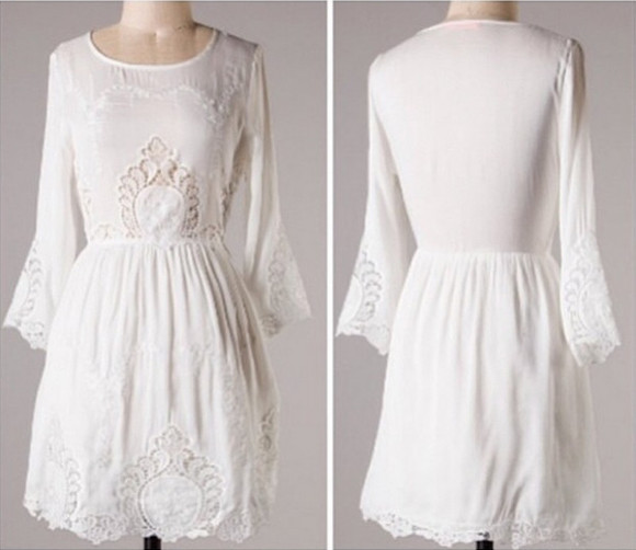 crochet dress white white dress lace white crochet dress white lace dress