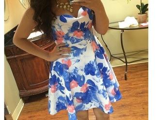 dress summer dress sweetheart neckline