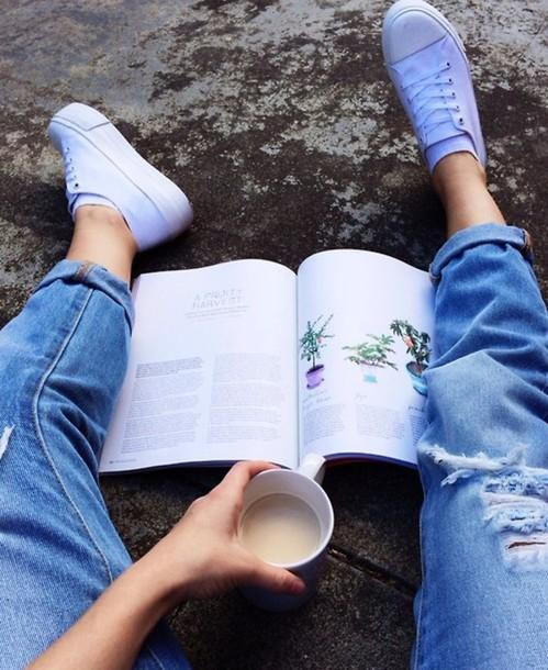 shoes sneakers white tumblr platform shoes platform shoes jeans