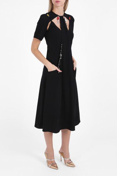 CHRISTOPHER KANE dress women black