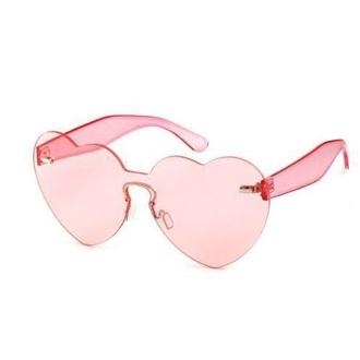 sunglasses girly pink heart heart sunglasses