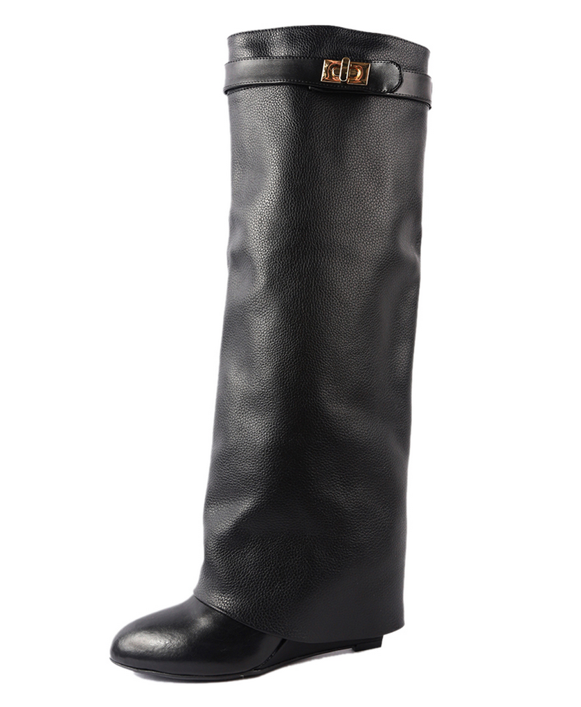 High wedge boots – shophouseofsole