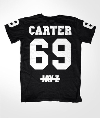 t-shirt carter tom ford jay z baseball tee