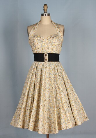 50s style swing dress rockabilly rockabilly style pin up vintage dress long dress housewife housewife dress party dress fashin dress dress classic dress