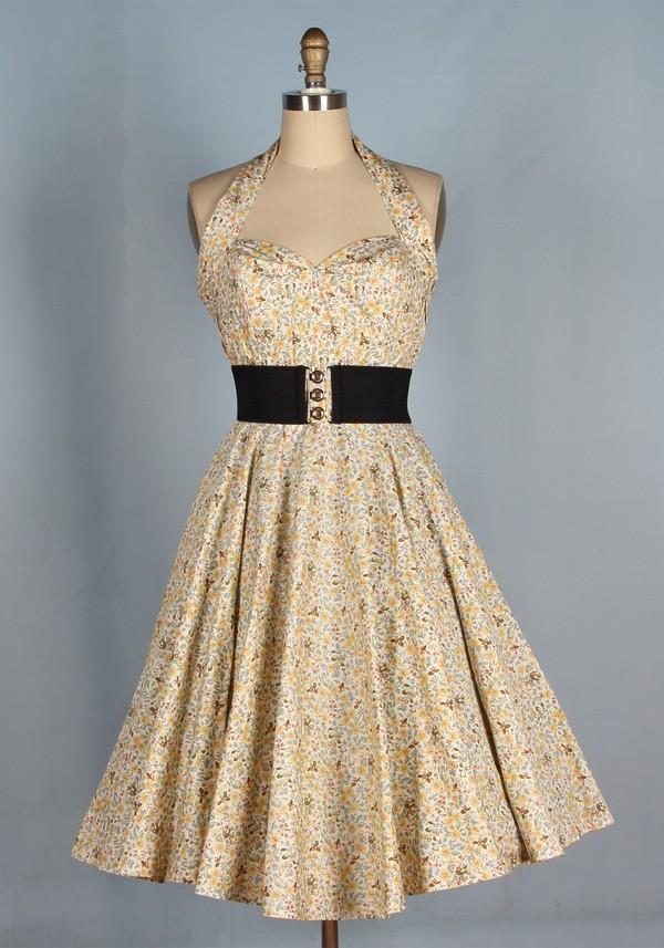 50s style 50s style swing dress rockabilly rockabilly style Pin up Pin up vintage dress long dress housewife housewife dress party dress fashin dress dress classic dress