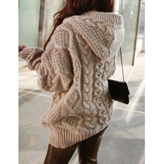 sweater cable knit knitted sweater winter sweater