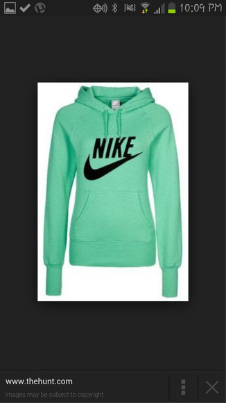 mint nike sweater