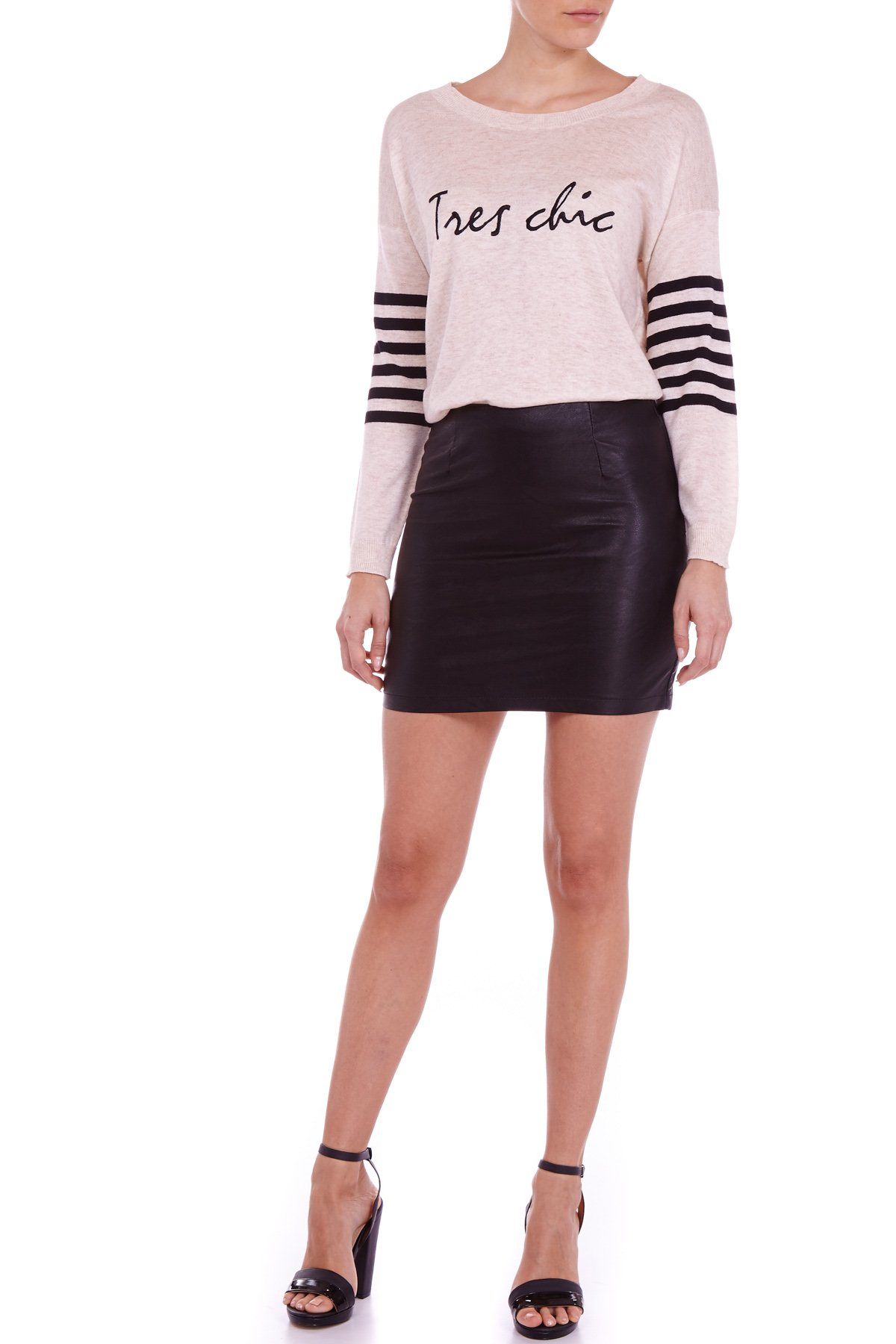 PAT14 Poppy Lux Tres Chic Sweater - Sugarhill Boutique