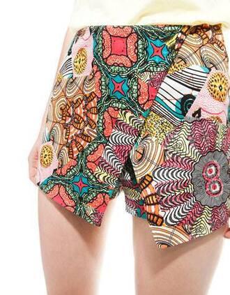 shorts inditex skorts bershka zara blouse