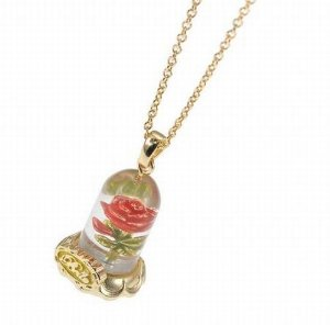 Disney store disney princess jewelry beauty for Disney beauty and the beast jewelry