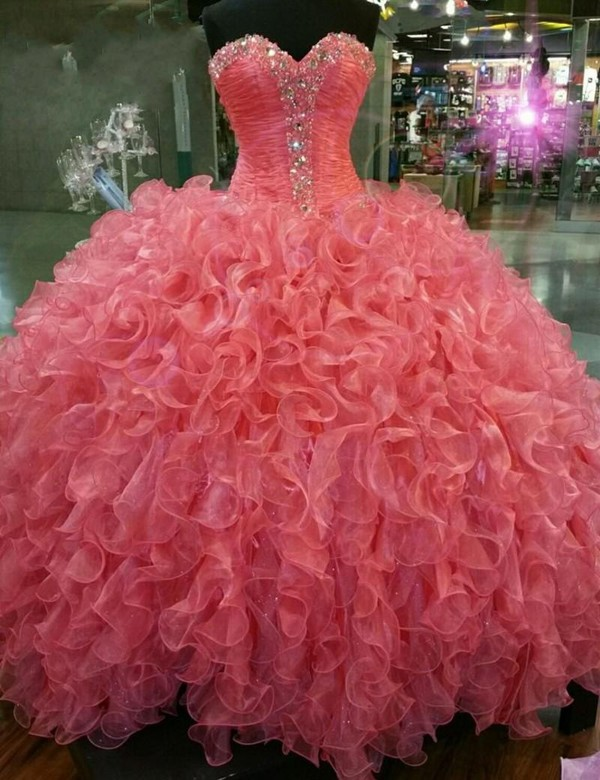 dress ball gown quinceaneara dresses real pictures