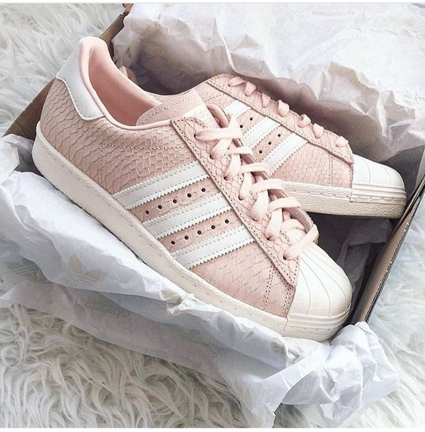 adidas superstar 80s w rosa