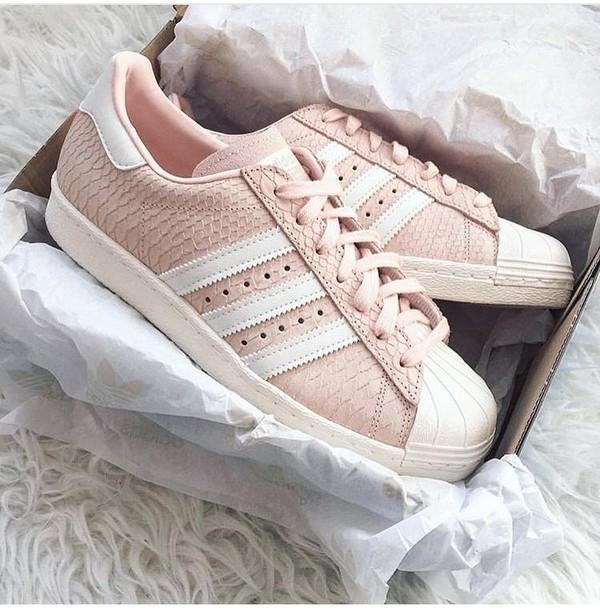 Adidas Superstar Croco Rosa