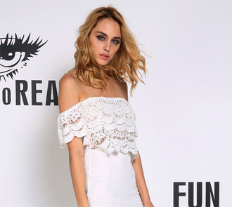 blouse t-shirt lace shirt los angeles