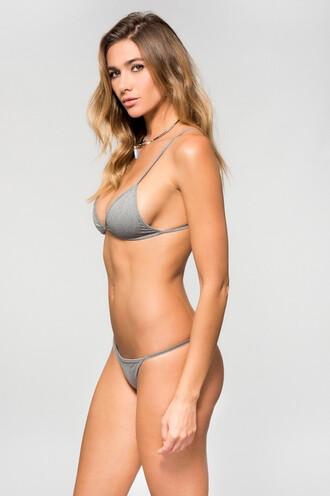 swimwear bikini bottoms dbrie swim grey skimpy bikiniluxe