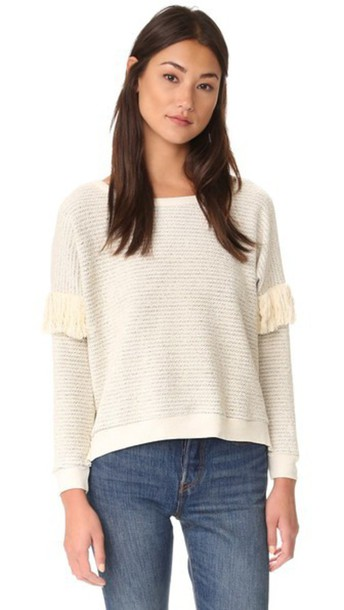 Liv Moroccan Sweater - Ivory