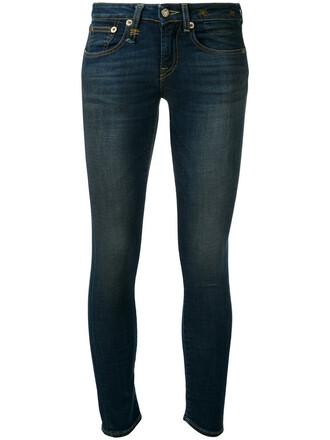 jeans skinny jeans women classic spandex cotton blue