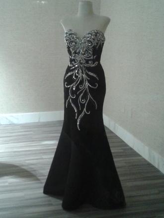 dress prom dress mermaid prom dresses sequins