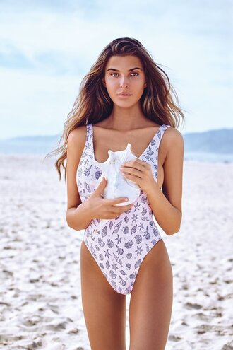 swimwear one piece chloe beach fashion