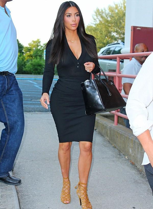 shoes kim kardashian bag skirt