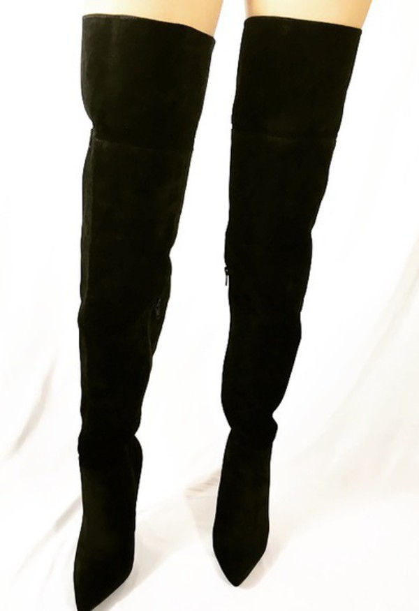 ASOS KITE Slouch Over The Knee Boots at asos.com