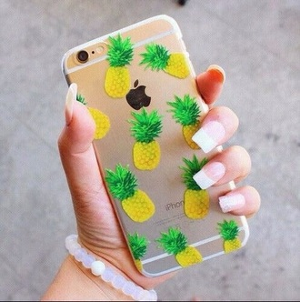 phone cover pinapple