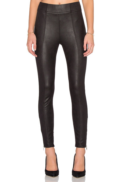 7 For All Mankind zip black