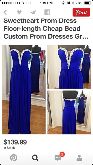 chiffon grad 2015 graduating prom dresses /graduation dress .party dress blue dress 2015 prom dress chiffon dress