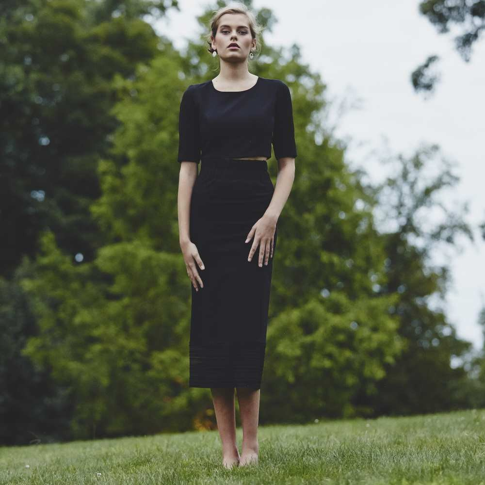 Mid Calf Skirt