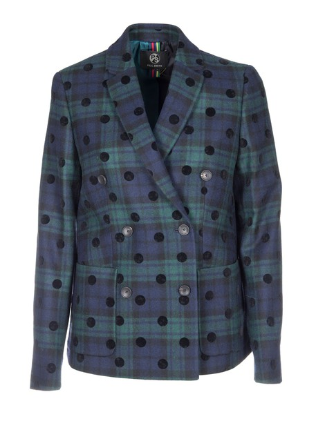 Paul Smith blazer double breasted blue jacket