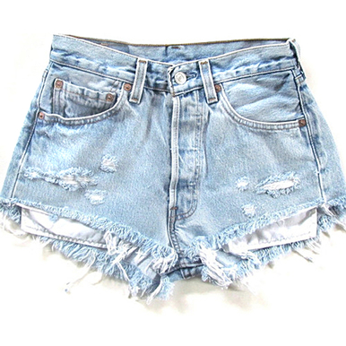 Original 320 Scuffed Shorts - Arad Denim