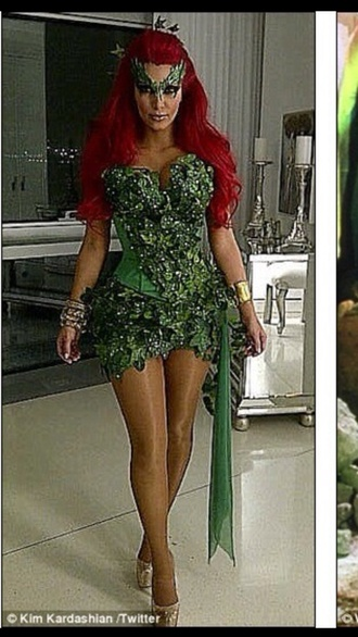 dress poison ivy halloween costume