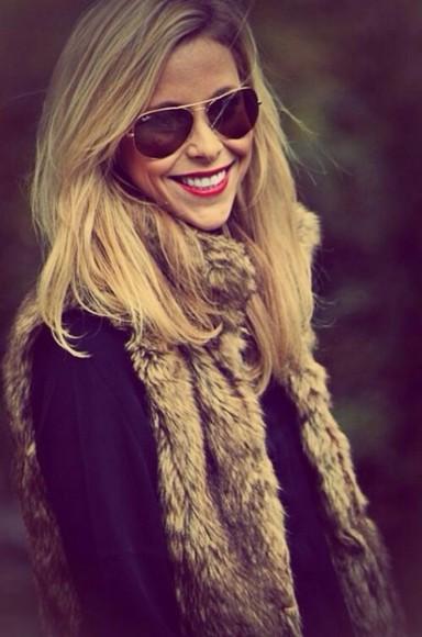 fall outfits vest top furry vest fur vest fur winter outfits winter/autumn