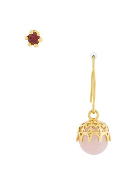 IOSSELLIANI rose women earrings gold silver yellow orange jewels