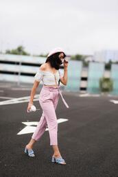 preppy fashionist,blogger,top,pants,shoes,jewels,bag
