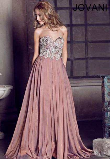 Jovani dresses 73377 at peaches boutique