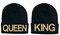Queen beanie king beanie
