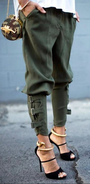 Sexy styles with khaki pants can