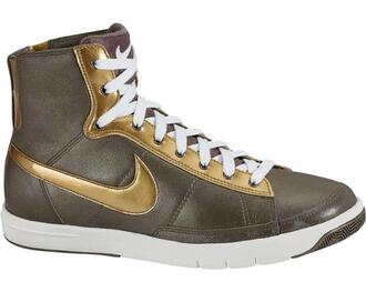 shoes gold nike shoes nike khaki golden shoes 2008 green shoes nike blazers women